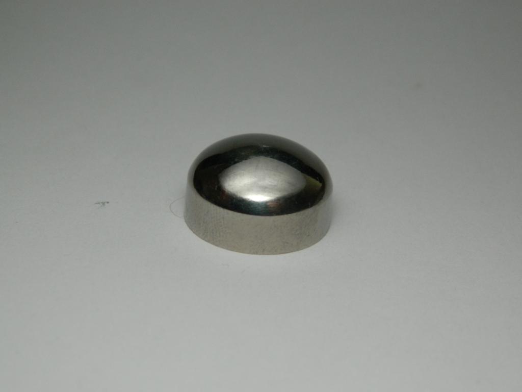 Фурнитура для ограждений и перил: заглушка ригельная под трубу
